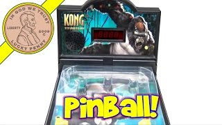 King Kong Movie 8th Wonder Of The World Toy Pinball Machine