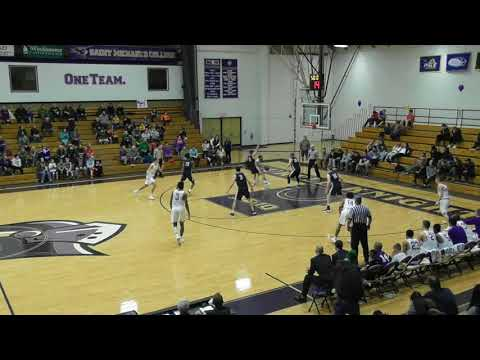 Men's Basketball Downs Regional Power Saint Anselm (2/17/18)