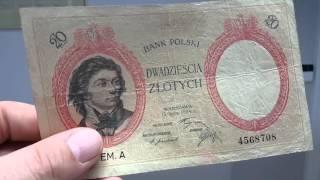 Banknot 20 złotych 1924