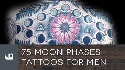 75 Moon Phases Tattoos For Men