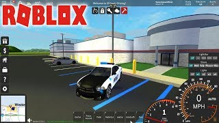 Roblox: Ultimate Driving Westover Islands #02 - Trabalhando de policial !!!