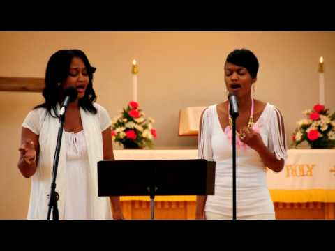 """Kirk Franklin """"Hold Me Now"""" Cover By Dawn & Shawn (part 2)"""
