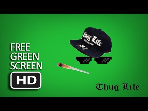 Free Green Screen - Best Thug Life