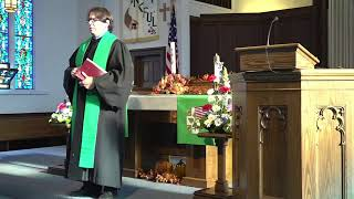 Sunday Worship Service - November 8, 2020 - Veterans Day Service