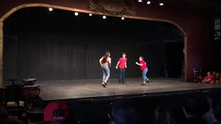 """Roundabout"" tap dance (choreography by Allison Scott)"