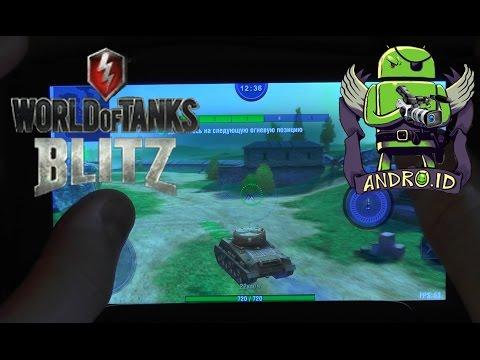 Установка и обзор World Of Tanks Blitz игра для Android