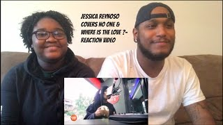 Jessica Reynoso Covers No One Where Is The Love Reaction