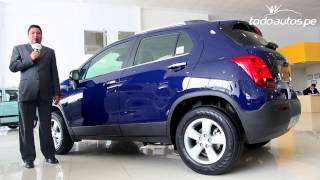 chevrolet Tracker 2013-2014  en Per  Video en Full HD  Todoautos.pe
