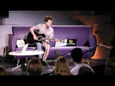 Alex Day sings live | Nerimon | Stickaid 2011 | Audience View