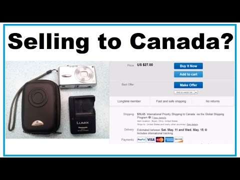 Ebay US Sellers Using Global Shipping Program: Canadians Have To Pay High