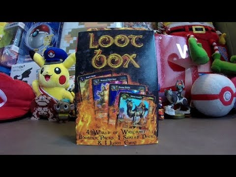 World Of Warcraft TCG Loot Box Opening - Includes A Loot Card!