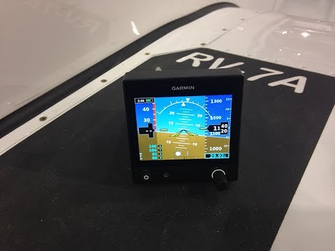 Garmin's New Electronic Flight Instrument and Audio Panel