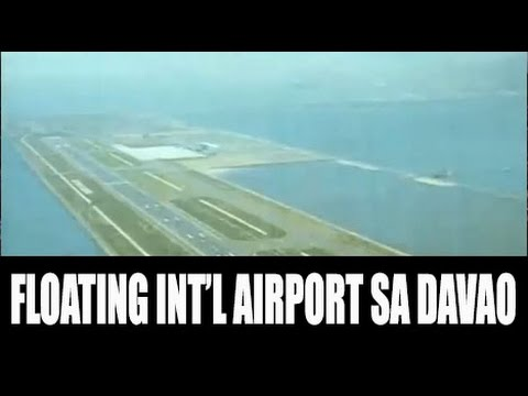 Floating International Airport Ipapatayo sa Davao City