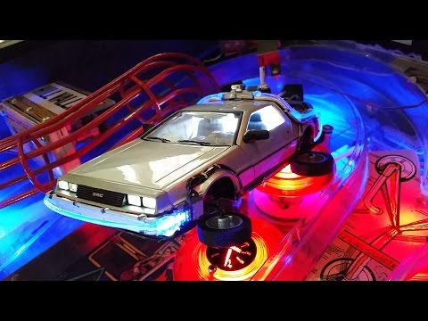 Back to the Future Pinball Machine Mods