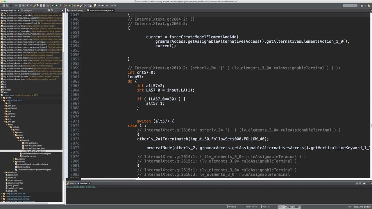 Eclipse Java Editor Scroll Performance on Mac