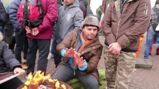 Turvapaikanhakijoiden mielenosoitus