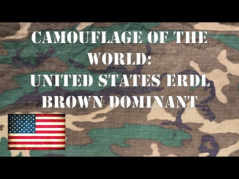 Camouflage Of The World: U.S. Brown Dominant ERDL