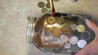DIY: Как сделать КОПИЛКУ своими руками из банки / Мастер-класс