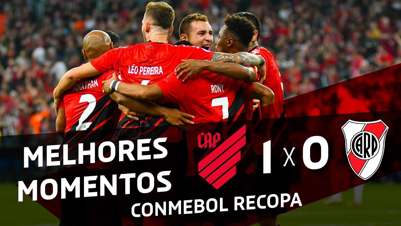Athletico Paranaense 1x0 River Plate Melhores Momentos