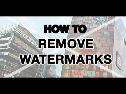 removing watermark from video