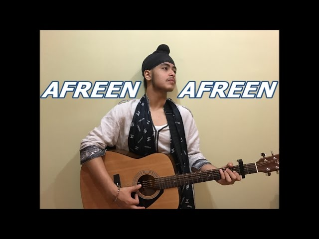 Afreen Afreen (Acoustic) | Coke studio | Acoustic Singh