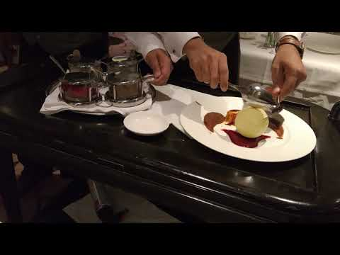 Epicurean dessert, P&O cruise ship Azura