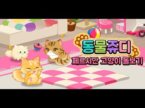 동물쥬디 페르시안 돌보기(Animal Judy: Persian cat care)
