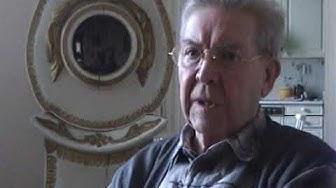 Pentti Siimes kotonaan 2005