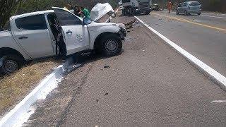 Baixar Prefeita se envolve em grave acidente com vítima fatal em rodovia do RN