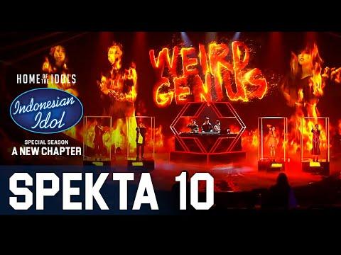 TOP 4 X WEIRD GENIUS - LATHI - SPEKTA SHOW TOP 4 - Indonesian Idol 2021