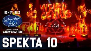 Download TOP 4 X WEIRD GENIUS - LATHI - SPEKTA SHOW TOP 4 - Indonesian Idol 2021