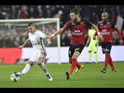 Marco Verratti vs Guingamp (Away) 2016-17