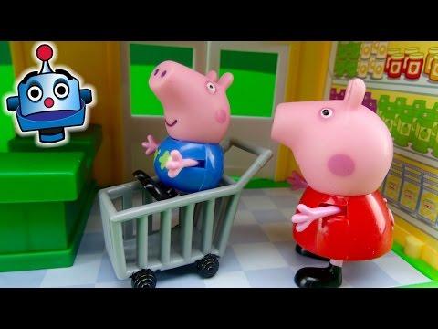 Supermercado de Peppa Pig