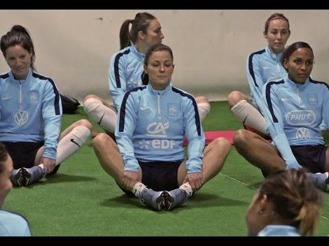 Equipe De France Feminine Algarve Cup Installation Au Portugal