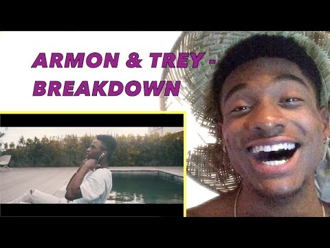 Armon And Trey - Breakdown Official Music Video ALAZON EPI 162 REACTION