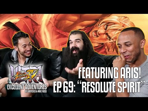 RESOLUTE SPIRIT! The Excellent Adventures of Gootecks & Mike Ross ft. Aris! Ep. 69