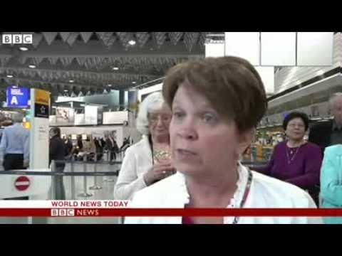 Lufthansa strike causes flight cancellations
