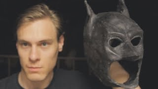 "Latex Mask Tutorial - Batman ""The Dark Knight"" Mask"