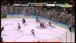 Providence College Stuns Boston University To Win 2015 NCAA Hockey Championship (1/2)