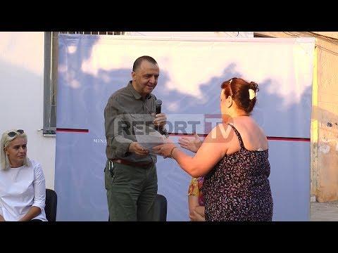 Report TV - Tiranë, shpërndahet 48 leje legalizimi për banorët e njesisë 7