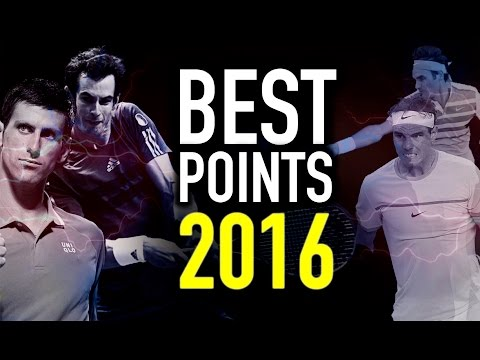 Best Tennis Points of 2016 - Bring On 2017 ᴴᴰ