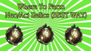 Warframe PS4 Where To Farm Neo/Axi Relics