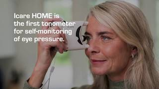 Icare HOME for selfmonitoring of eye pressure