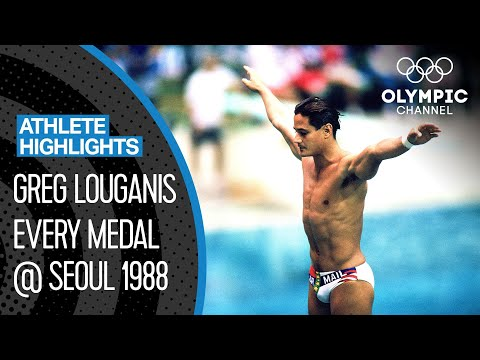 The greatest diver of all-time? Greg Louganis at Seoul 1988 🇺🇸 |Athlete Highlights