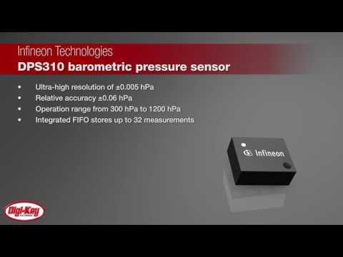 Infineon DPS310 Digital Barometric Pressure Sensors | Digi-Key Daily