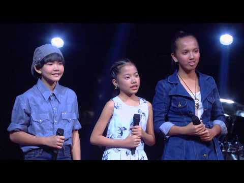 The Voice Kids Thailand - Battle Round - อาย VS ใบบุญ VS น้ำ - ลูกกรุง - 22 Mar 2015