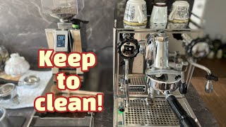 How to clean an Espresso machi…