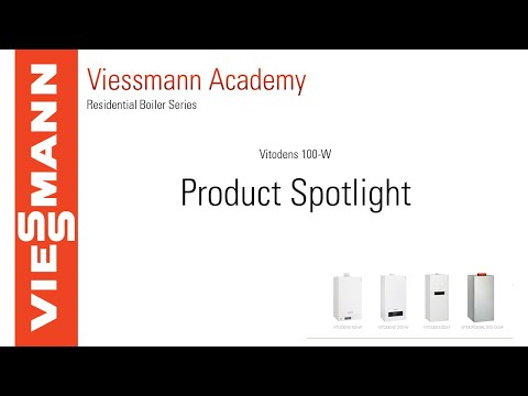 Viessmann Product Spotlight: Vitodens 100-W space heating and combi boiler