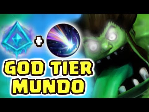 DR MUNDO IS GOD TIER NOW!!! 4 MINUTES FINISHED JG ITEM | NEW RUNE SETUP IS ACTUALLY OP!! PERMA SLOW