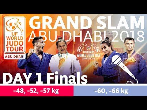 Judo Grand-Slam Abu Dhabi 2018: Day 1 - Final Block